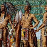 American Indians in Tiffany's Marquette Mural
