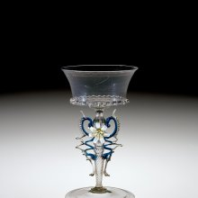 Winged Goblet, Venice, Italy, 1675-1725. 2000.3.14.