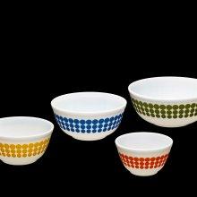 Set of 4 Pyrex Nesting Bowls
