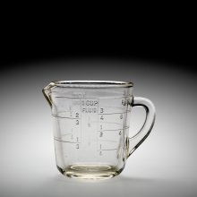 Pyrex Liquid Measuring Cup, Corning Glass Works, Corning, NY, USA, 1926. 2010.4.743.