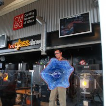 Hot Glass Show on Celebrity Cruises