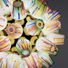 Sphere Chandelier, Candy Collection, Humberto Campana, Fernando Campana, Lasvit, Novy Bor, Czech Republic, 2015. 2015.3.27.