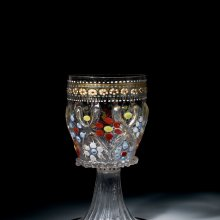 Enameled Goblet, Venice, Italy, 1500. Bequest of Jerome Strauss. 79.3.185.