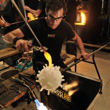 Making Ideas: Experiments in Design at GlassLab - making a design at GlassLab