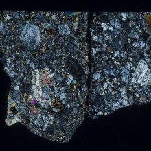 Thin Meteorite Slice