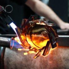 Hot Glass Demo at CMoG