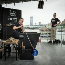 GlassBarge launches in Brooklyn