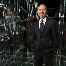 Jeff Evenson, Chairman of the Board of The Corning Museum of Glass. Photo courtesy of Corning Incorporated.