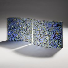 Matthew Curtis, Blue and Amber Section Pair.