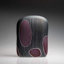 Impressions, Black with Russet by Clare Belfrage, photo by Pippy Mount