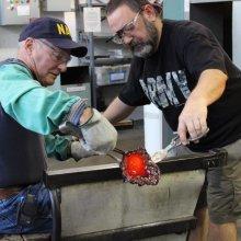 Veteran's Glassworking Experience