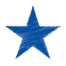 Blue Star graphic