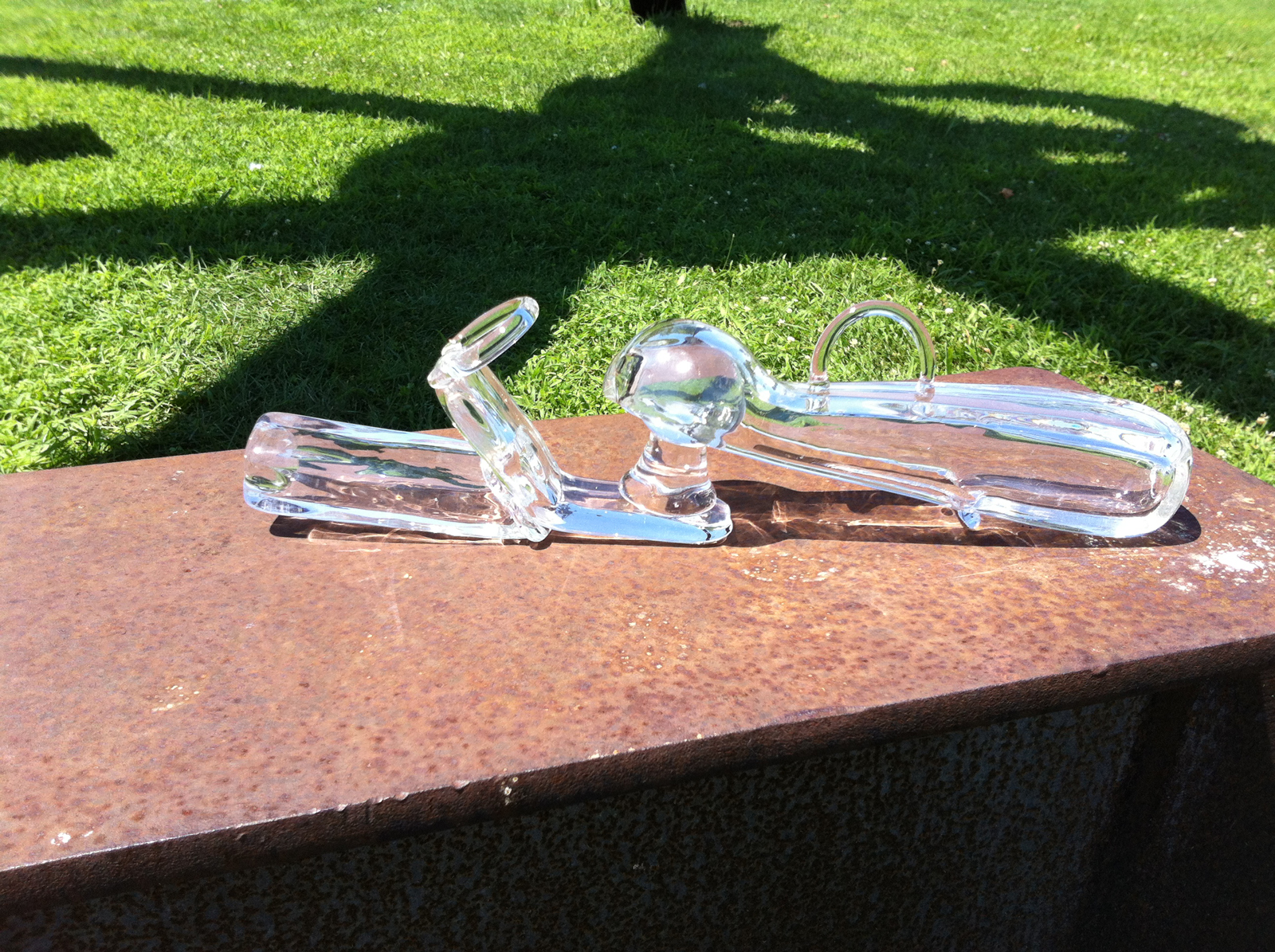 Truck hitch prototype by Designers Keetra Dean Dixon and JK Keller at GlassLab on Governors Island